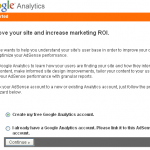 adsense analytics linkink wizard